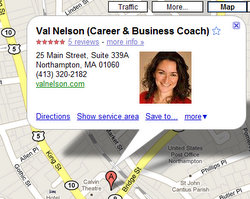 Val on Google Map.