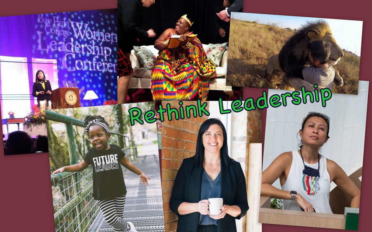 women leaders collage