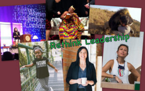 Rethink leadership - women